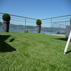 Reinforced Natural Hybrid Turf in Baile Glas 5