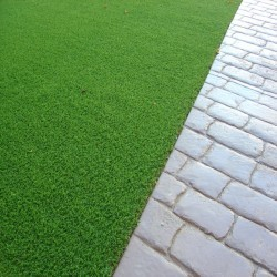 Synthetic Grass Playground in Aberbargoed 3
