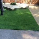 Synthetic Grass Playground in Aberbargoed 11