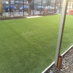 Synthetic Grass Playground in Aberbargoed 1