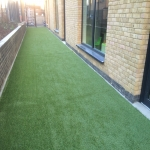 Fake Grass Lawn Surface in Whitemoor 1