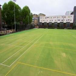 Artificial Grass Surface in Abbey Green 9