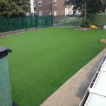 Fake Grass Lawn Surface in Whitemoor 6