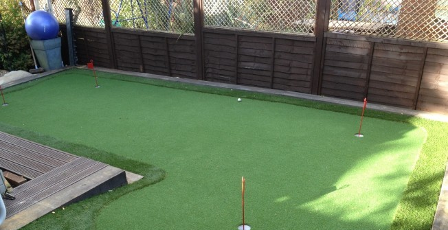 Synthetic Putting Greens in Annwell Place
