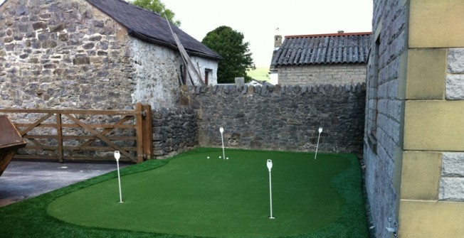 Artificial Golf Surfaces in Annwell Place