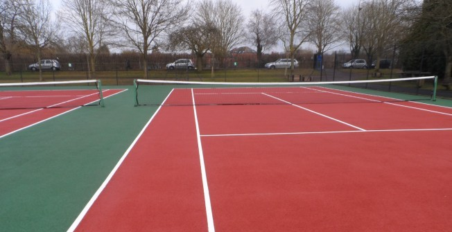 MUGA Pitch Surfaces in Aldborough Hatch