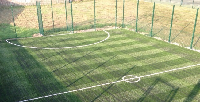 Building MUGA Sport Surfaces in Bridgend