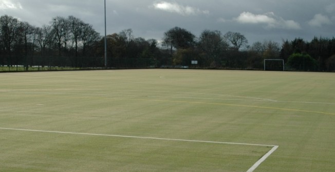 All Weather Sports Pitch in St Martin's