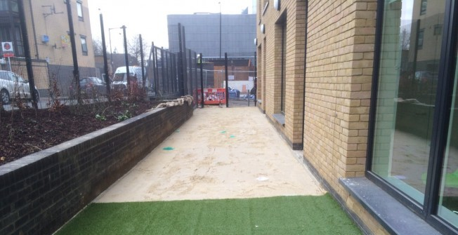 Installing Synthetic Grass in Allaston