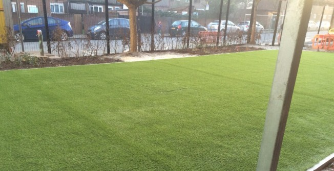 Artificial Grass Surfaces in Ancton