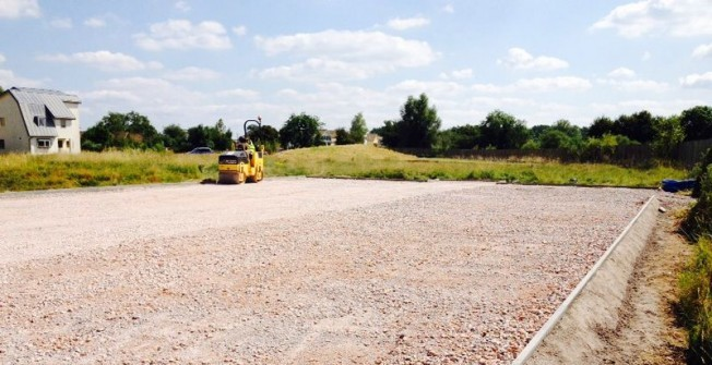 MUGA Pitch Construction in Almington