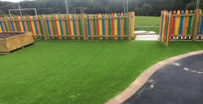 Fake Grass Flooring in Delabole