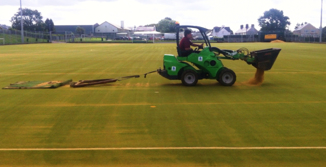 Synthetic Pitch Maintenance in Abbey Dore
