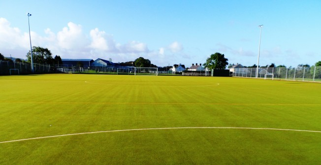 Synthetic All Weather Surface in Aber Village