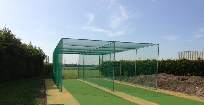 Synthetic Cricket Wickets in Tidenham