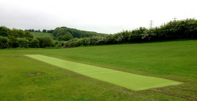 Artificial Cricket Surfacing in Ganllwyd