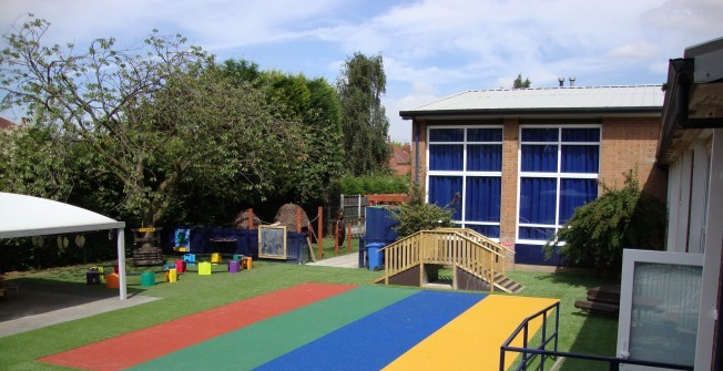 Synthetic Turf Playgrounds in Airth