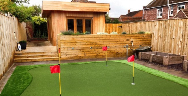 Golf Putting Greens in Rhondda Cynon Taf