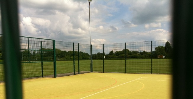 Multi Use Games Area Surfacing in Ancroft