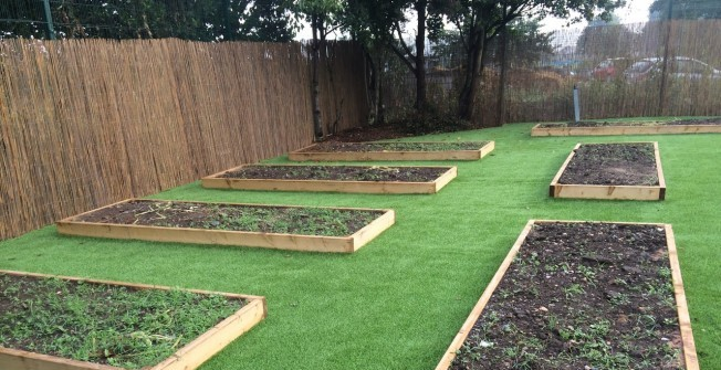 Playground Artificial Grass in Aycliffe Village
