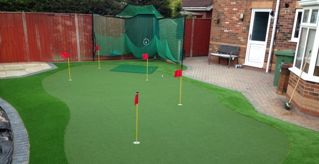Garden Golf Greens in Bridgend