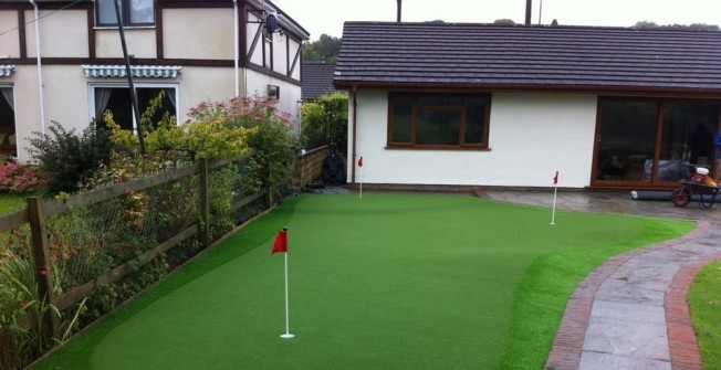 Golf Back Yard Facility in Caldicot/Cil-y-Coed