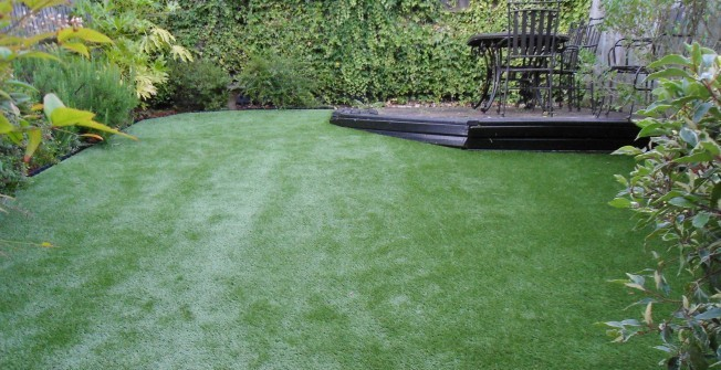 Artificial Turf for Gardens in Powys